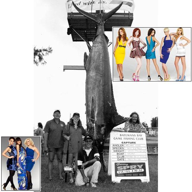 Melanie Kisbee nozvejoja lielo... Autors: bizonis1 Lielas zivis = Slavenības