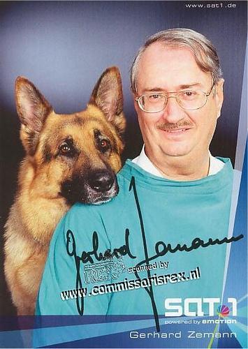 Rex kopā ar Gerhard Zemann  Dr... Autors: Raijanona Komisārs Reksis