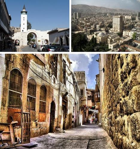 Damaska Sīrijas galvaspilsēta... Autors: Fosilija Pasaules skaistākās senās pilsētas