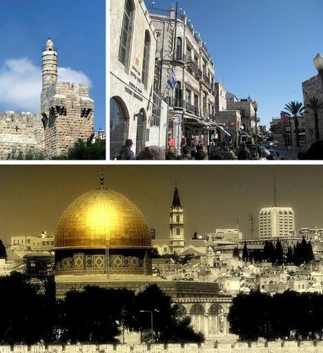 Jeruzāleme Palestīna un... Autors: Fosilija Pasaules skaistākās senās pilsētas