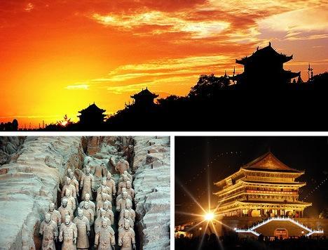 Ksiana Pilsēta Ķīnā Viena no... Autors: Fosilija Pasaules skaistākās senās pilsētas