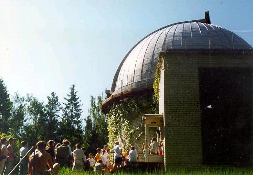 Observatorijas ēka Autors: LittleWolf Baldones observatorija - vienīgā Latvijā