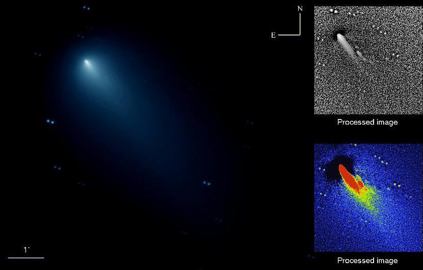 Komētas 73PSchwassmannWachmann... Autors: LittleWolf Baldones observatorija - vienīgā Latvijā