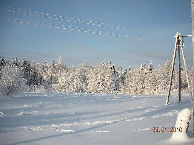 Ir saulains ziemas rīts laiks... Autors: Domia Ziema