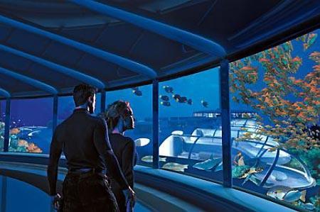 The Poseidon Undersea Resort ... Autors: llellde Nākotnes viesnīcas