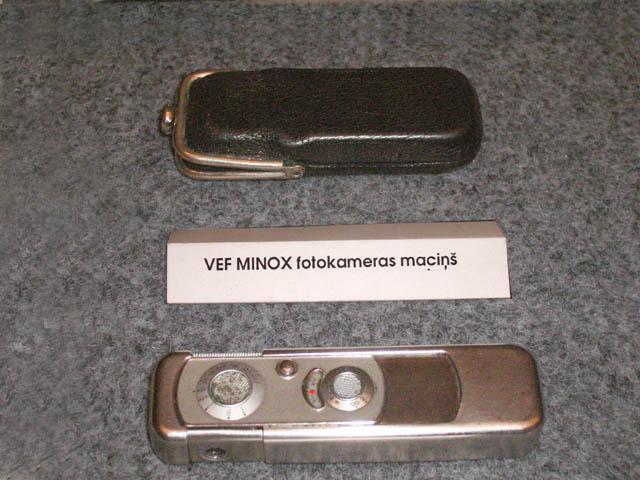 VEF Minox Autors: Moonwalker Latvijas izgudrojumi.