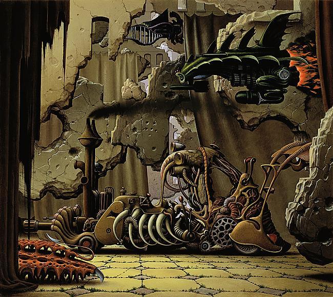 chaos riders  jacek yerka Autors: Fosilija sirreālisma nekad nebūs par daudz.