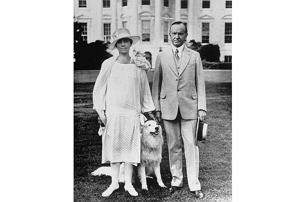 Kelvisn Kūlidžs un baltais... Autors: aisse Valsts pirmie suņi