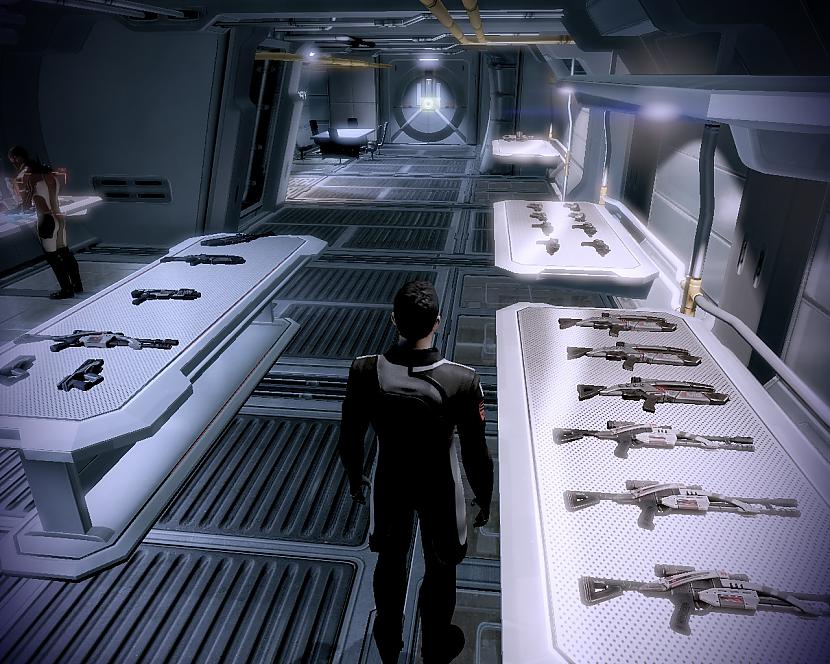 Normandijas arsenāls Autors: RūdisPH Mass Effect 2 recenzija.