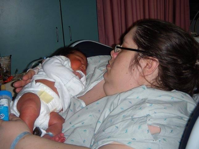 Donna pēc jaunākā bērna... Autors: tvixa Viņa vēlas sasniegt 460 kg.