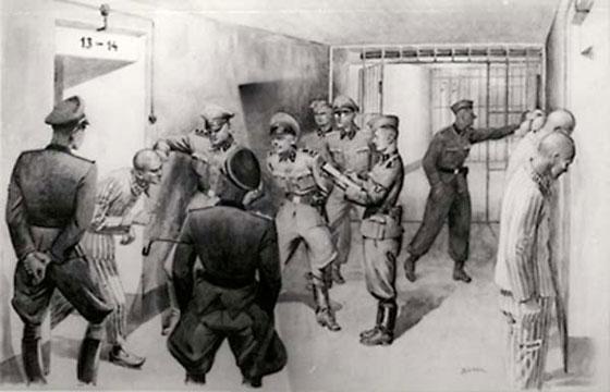 Pagrabs zem 11 bloka pašas... Autors: industrious Aušvices nāves nometne, toreiz un tagad