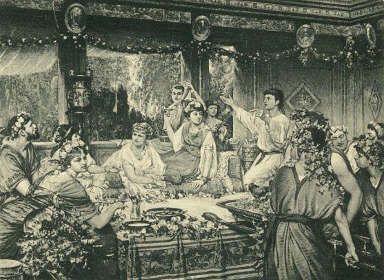 Romieši mēdza vemt ēdienreižu... Autors: gurkjis Nezināmā Senā Roma! Fakti!