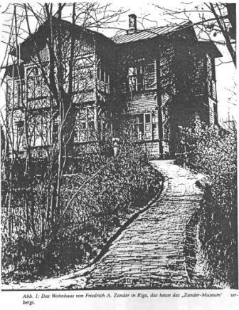 Māja Rīgā FCandera ielā 1... Autors: Sperovs Frīdrihs Canders