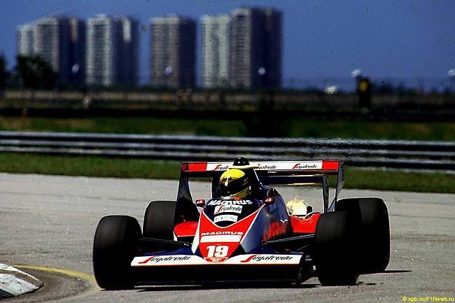 Airtona pirmā F1 sacīkste Autors: kartonz Airtons Senna - 50