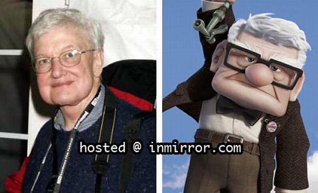 Roger Ebert vs Carl... Autors: FANS007 Paskat, Cik Līdzīgi! :D