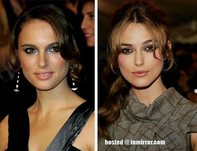 Natalie Portman vs Keira... Autors: FANS007 Paskat, Cik Līdzīgi! :D