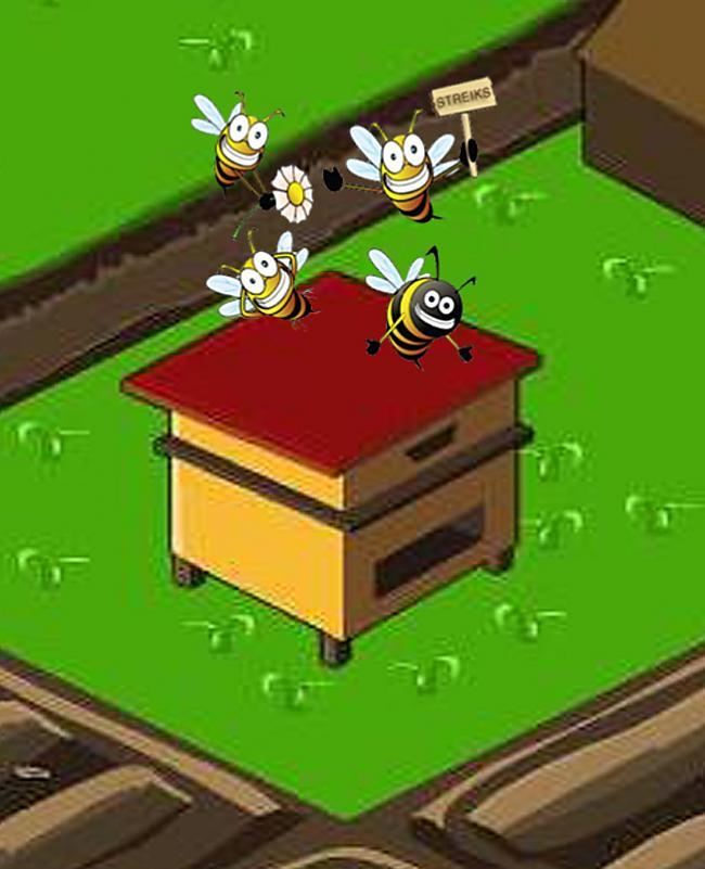 Bites sākušas streikot jo mēs... Autors: Fosilija Šausmas kas notiekās  Draugiem.lv spēlē Ferma