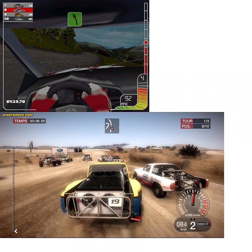 10 Colin Mc Rally 1 DIRT 2... Autors: evanti Spēles pirms un pēc vairākiem gadiem.