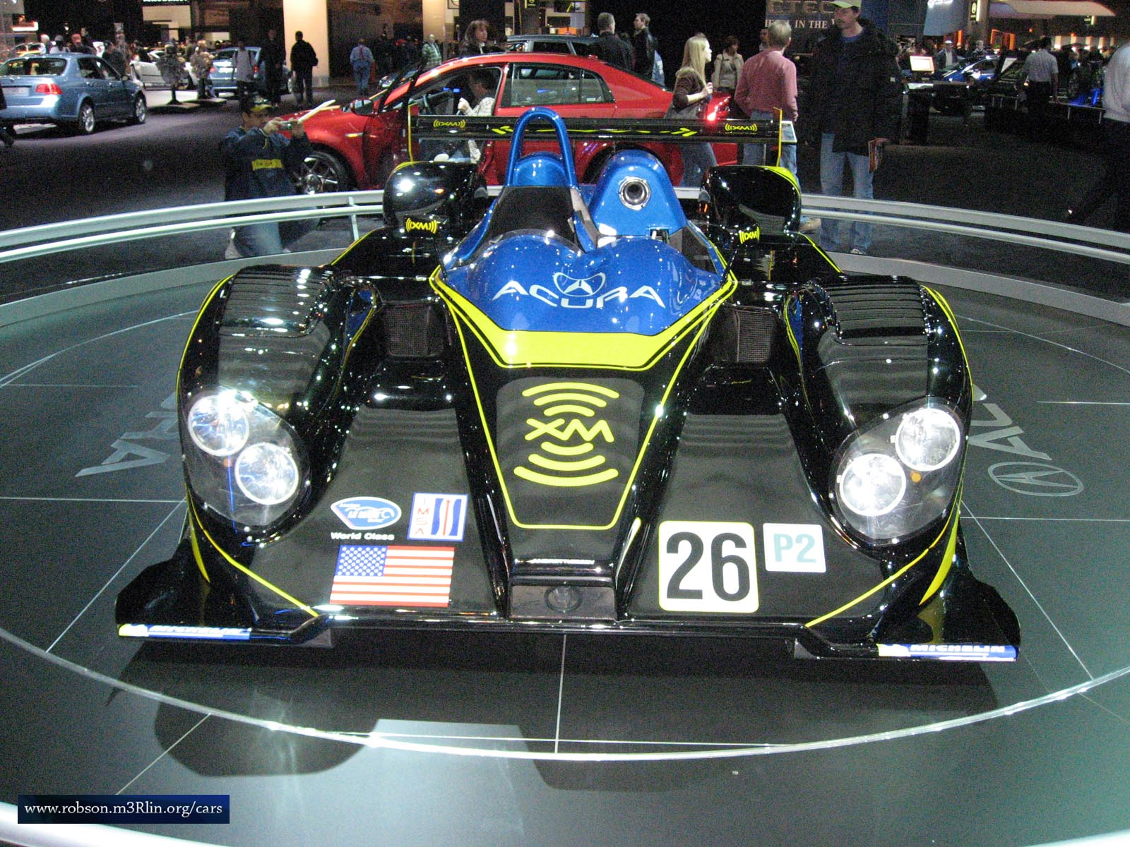 The XM car (powered by Acura) took first in the LMP2 class at the historic Twelve Hours of Sebring race.