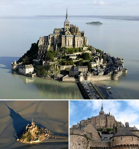 Mont SaintMichel Šī pils  kas... Autors: Grandsire 10 Fascinējošas Pilis