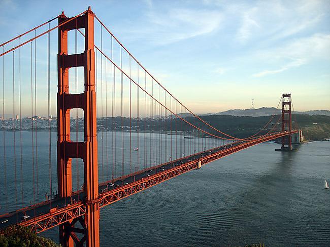 Sanfrancisko Zelta vārtu tilta... Autors: Kefirs Vai zini, ka...Daļa Nr.2
