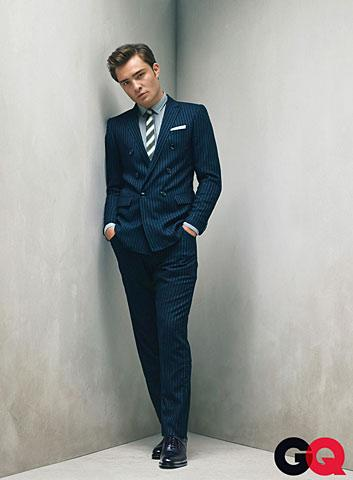 Ed Westwick Autors: Horneta Real man wear suits