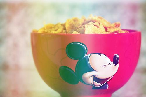 I have a tendency to make food... Autors: littlekoška mickey mouse.