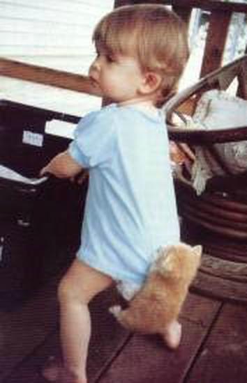 Bērnībā biju īsta palaidne Autors: Minceniiite Mana bērnība.