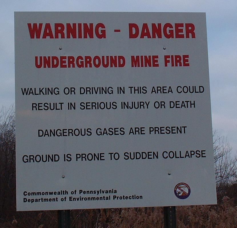 Zeme var pēkšņi iebrukt 1981... Autors: tgff1901 Centrālija, Pensilvānijas štats - īstā Silent Hill