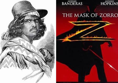 2 Zorro The Mask of Zorro ... Autors: Pirāts 5 filmu tēli reālajā dzīvē.2ā daļa.