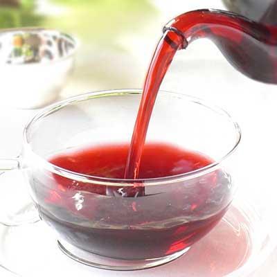 Karkade tēja Ir no hibiscus... Autors: Sabana Veselības dzērieni.