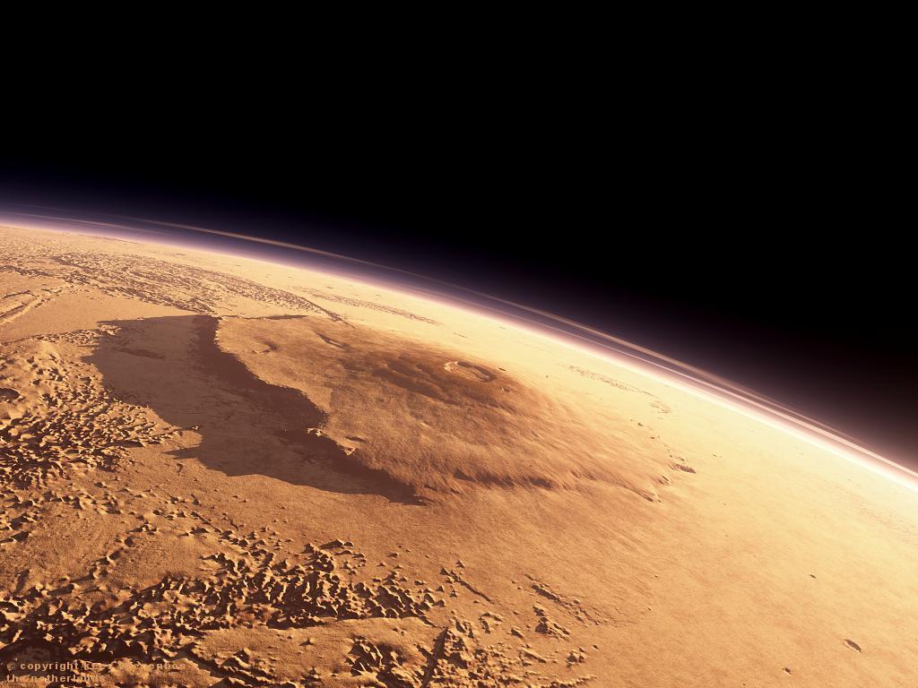 origin Olympus Mons Olimpa kalns 2 Martian meteorite puzzle solved!
