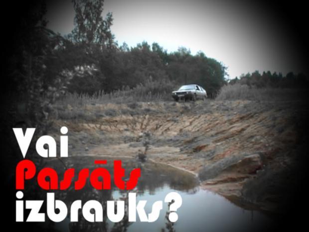 Vai PASSĀTS izbrauks Autors: TheAutoVideo Ar ģimenes auto sēnēs – Vai PASSĀTS izbrauks?