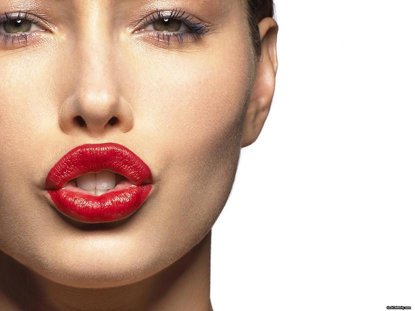Necenties lūpu krāsu noklāt no... Autors: FiFīī Padomi modē un skaistumkopšanā. 8