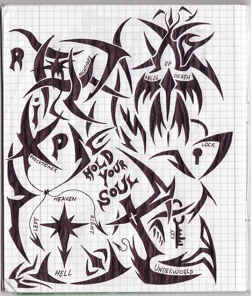 Autors: Nightmare123 Tinte uz lapas