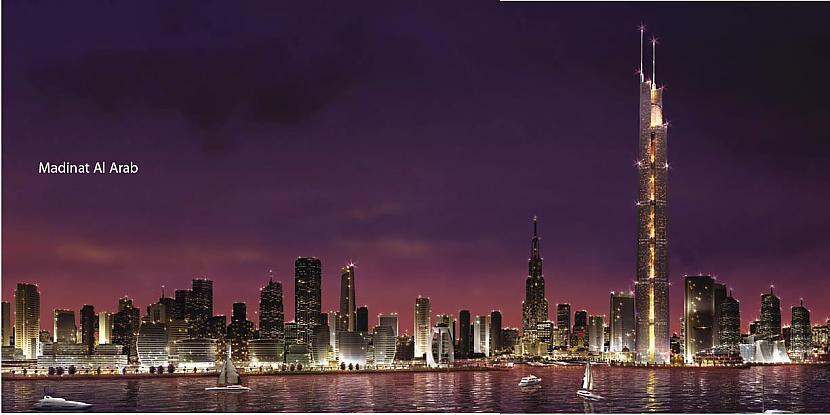 Al BurjTorņa augstums būs ap... Autors: XereX Megaprojekti: Dubaja 2. daļa