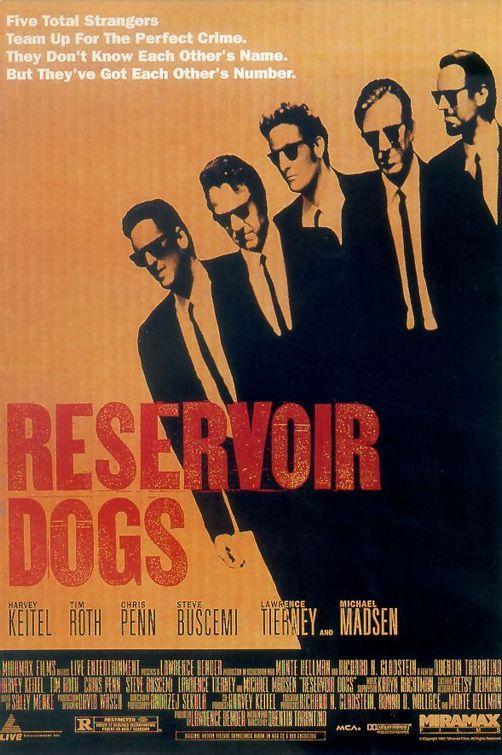 Reservoir Dogs1992Sešus... Autors: Pirāts 20. gs labākās filmas!