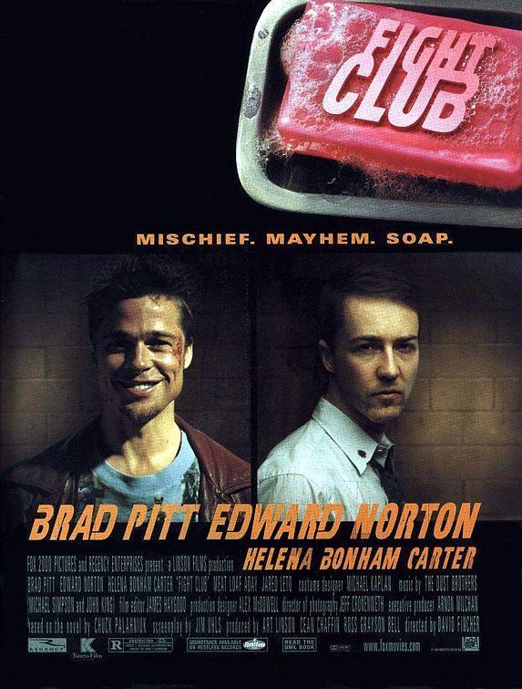 Fight Club1999Kāds vīrs kurš... Autors: Pirāts 20. gs labākās filmas!