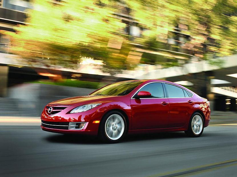 Šeit redzama jaunā Mazda 6 ko... Autors: GET MONEY Pāris labi automobiļi 2 daļa