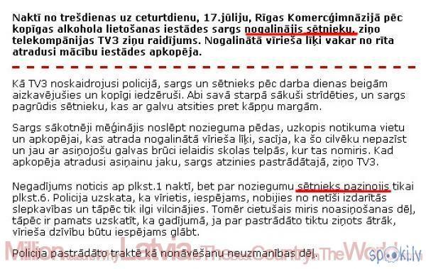 12Zombis  Autors: Pīrādziņš Latvija tomēr labākā