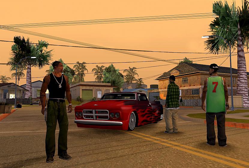 GTA San Andreas ja nu gadījumā... Autors: TheMephestopheles Immortal PC games. Ar zemām sistēmas prasībām.