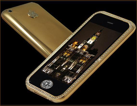 Phone 3GS Supreme  302 miljoni... Autors: Pipu6s Septiņi nejēdzīgi dārgi gadžeti.