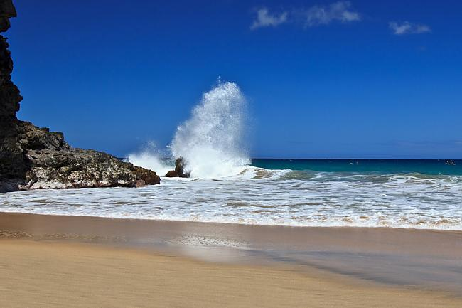 Hanakapiai pludmale atrodas... Autors: PRESS Bīstamākās pludmales pasaulē.