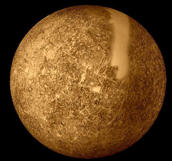Merkūrs Temperatūru svārstības... Autors: DonPedro interesanti fakti par Saules sistēmu