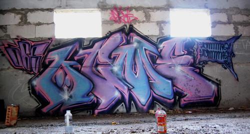 ACME  Šis ir viens no maniem... Autors: Ruudiiz Rīgas Populārākie Graffiti Zīmētāji