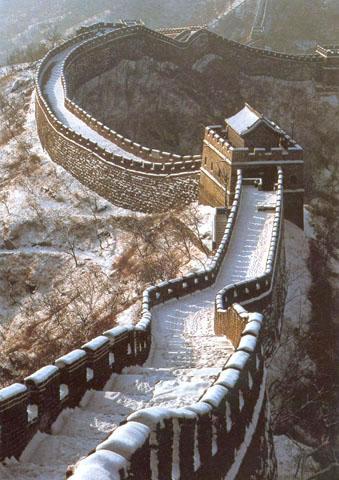 Lielais Ķīnas mūris viens no... Autors: Sindikāts 7 Pasaules Brīnumi