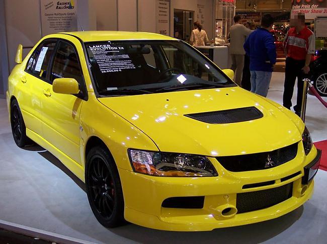 Mitsubishi Lancer Evolution 9 ... Autors: AEROlv Mitsubishi Lancer Evolution