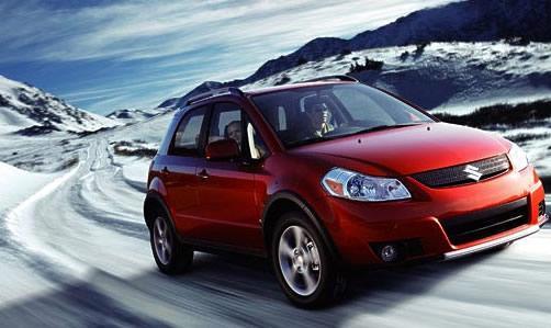10 VIETA  Suzuki SX4 Crossover... Autors: MONTANNA Top 10 labākās ziemas mašīnas