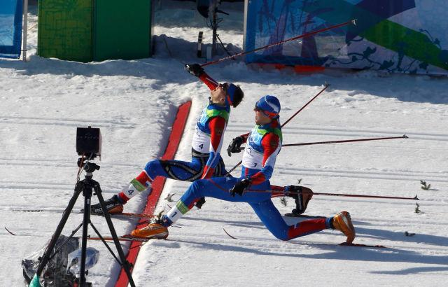 Krievu slēpotāji Ņikita... Autors: ainiss13 2010. gads fotogrāfijās.
