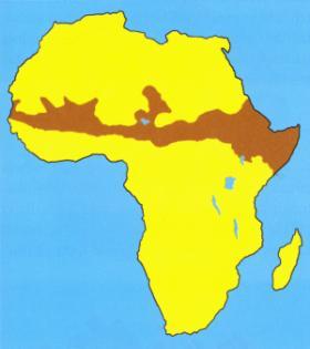 Sahēlas zonaSaauss reģions... Autors: MJ Bīstamākās valstis pasaulē - TOP 15